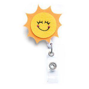 Sun | Nurse and Teacher Badge Reel Holder